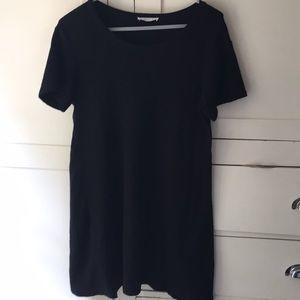 Zara Trafaluo black knit dress L